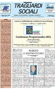 Anno 2003 :: n.8 Novembre / Dicembre 2003